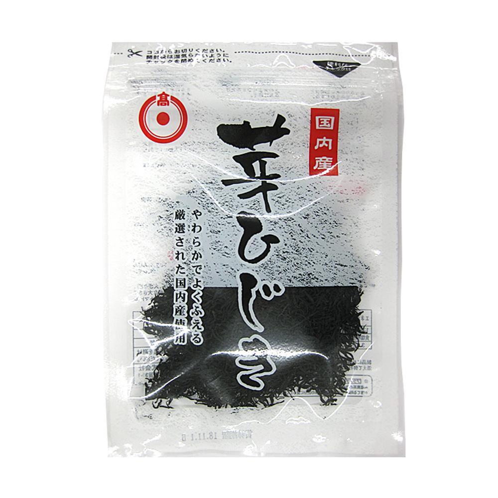 【代引き・同梱不可】日高食品 国内産芽ひじき 12g×20袋セット【その他】