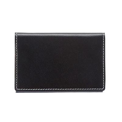 duende Firm ファームシリーズ 名刺入れ ブラック 706-BLA【財布・カードケース】