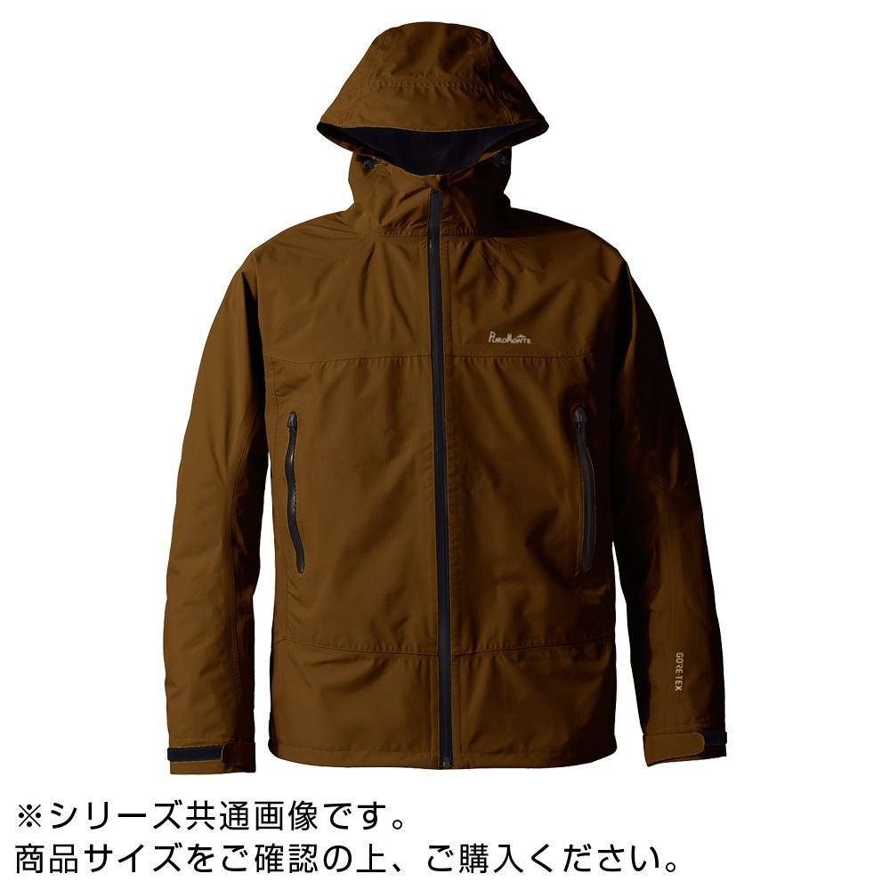 GORE・TEX ゴアテックス パックライトジャケット メンズ ブラウン 3L SJ008M【アウトドア】