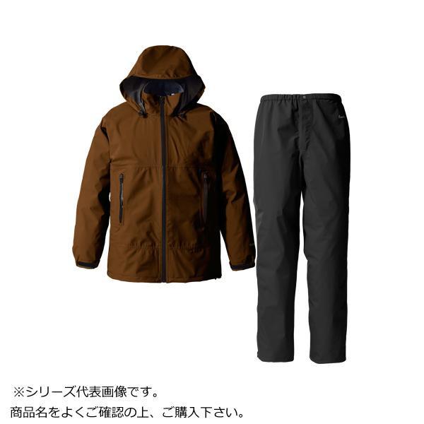 GORE・TEX ゴアテックス パックライトレインスーツ メンズ ブラウン XL SR137M【アウトドア】