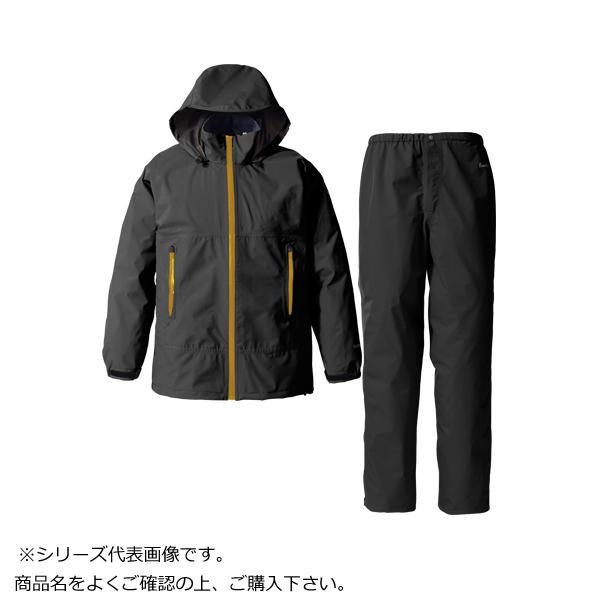 GORE・TEX ゴアテックス パックライトレインスーツ メンズ ブラック L SR137M【アウトドア】