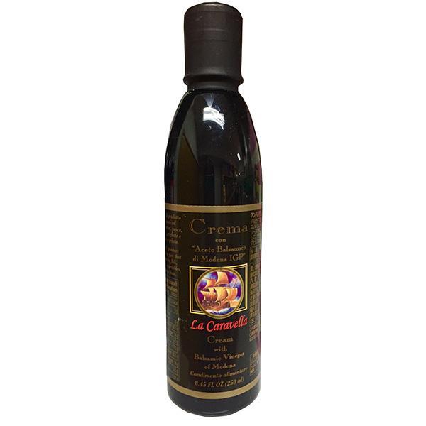 バルサミコ初心者にオススメ 代引き 通販 同梱不可 ボーアンドボン ラ カラベラ 捧呈 250ml×12個 バルサミコクリーム 調味料