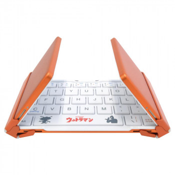 ポケットに入るコンパクトサイズ ギフ_包装 NEO 3つ折りタイプBTキーボード科学特捜隊3E-BKY8-UL3 マーケット