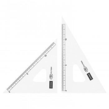 製図用品です 三角定規 メーカー直送 15cm×2mm お得クーポン発行中 1-809-1502 目盛り付き