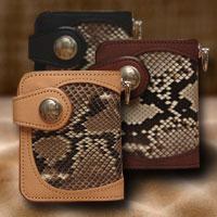 【送料無料】KC,s ケイシイズ ケーシーズ ダグラス パイソン ビルフォード【ksb006】二つ折り 財布 革 皮 サイフ ウォレット メンズ men's 男性用 紳士