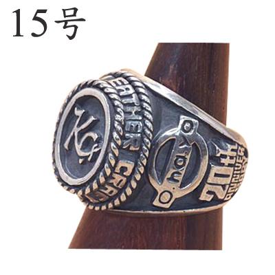 KC,s ケーシーズ KC,s 20th リング 15号/kyv201/オリジナル 職人 ハンドメイド 指輪 ロゴ【 新生活】【七夕】