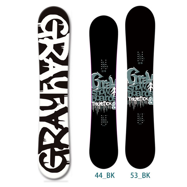 【送料無料】2013-2014 GRAY グレイ スノーボード 板 snow board/Trickstick トリックスティック BK