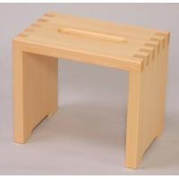 【送料無料】(Hinoki)風呂イス(B) I-511 木曽檜/6724bf/木製 木 ウッド wood 木材 材木 木肌 木目 天然木