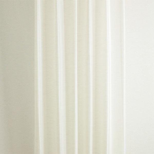オーダーレースカーテン 1.5倍ヒダ TD9507 UVカット70%以上 幅101~150cm×丈201~260cm【2枚 日本製】 納期7日程度