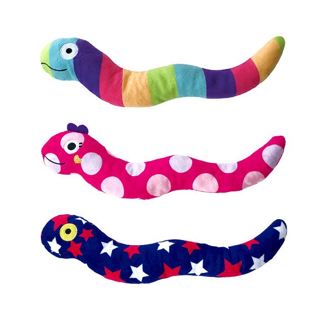 【ドッグトイ】ふわふわ へび ぬいぐるみ ドッグトイ 犬のおもちゃ 犬猫 ペット用品