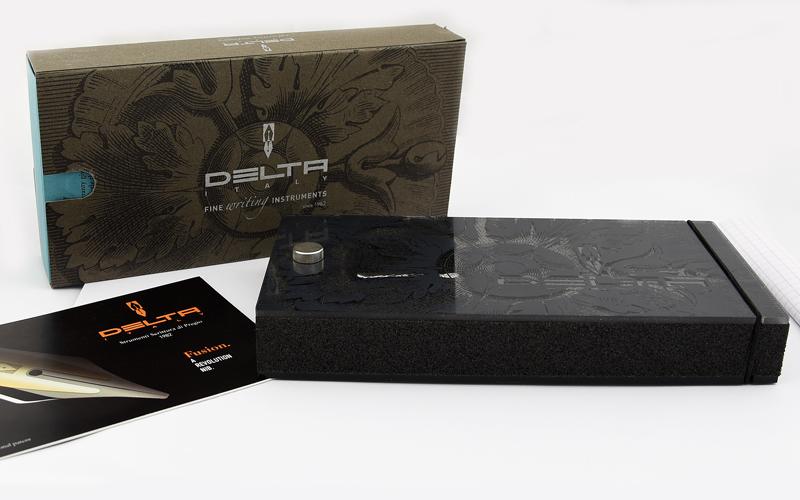 델타 DELTA ヴィルトゥオーサ 1F 만년필 컨버터 식 블루/ライトーアイボリ/블랙/ダークアイボリ F 사이즈