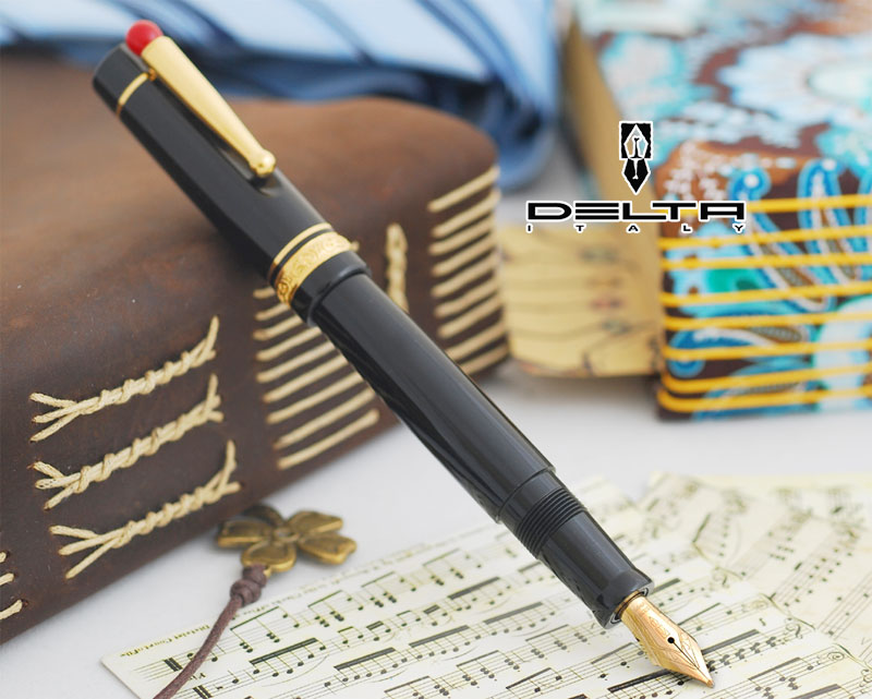 【年末セール】デルタ DELTA ウェイ WE 万年筆 (Mサイズ) DE-WE-17-1KGT-M