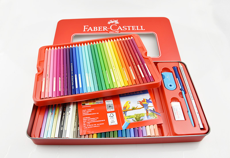 you style faber castell faber castell watercolor pencils 60 color red cans fc115965 rakuten. Black Bedroom Furniture Sets. Home Design Ideas