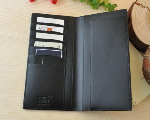 ' 몽블랑 MONTBLANC 30600 지갑 장 지갑 블랙 MB35790 *