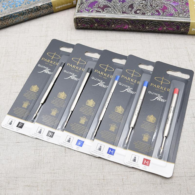 Parker PARKER standard ballpoint pen refill 2 book set refill (refill)  supplies f/m 2 size colors