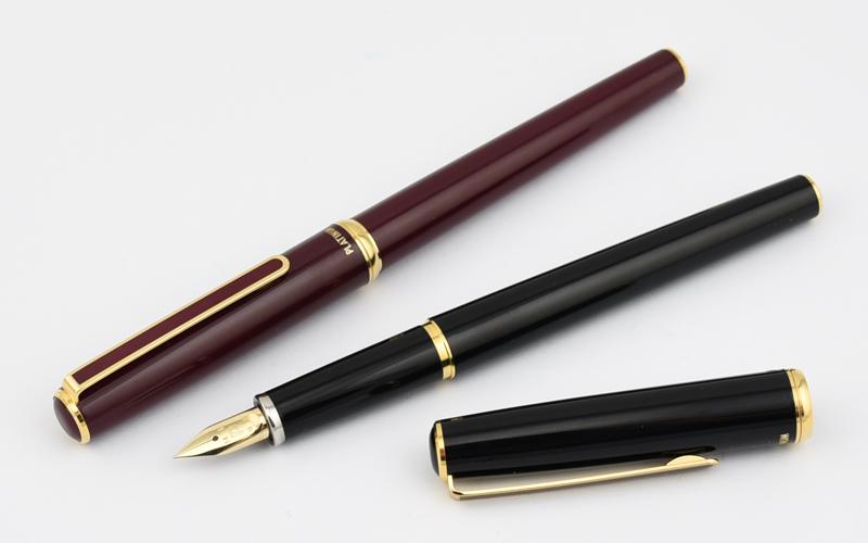 Platinum PLATINUM 14 K standard fountain pen black / red (EF/F/M size) PLA-PTL-5000A