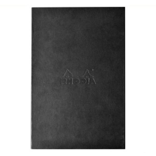 ロディア RHODIA ロディア ハードカバー ブラック メモ帳 NO.19 214*327 方眼罫