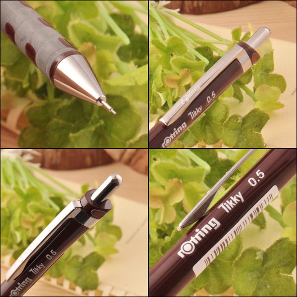 » ROTRING ticky for drafting mechanical pencil Black / Burgundy size: 1904694 / 1904695 / 1904696 / 1904697 / 1904510 / 1904691 / 1904692 / 1904693