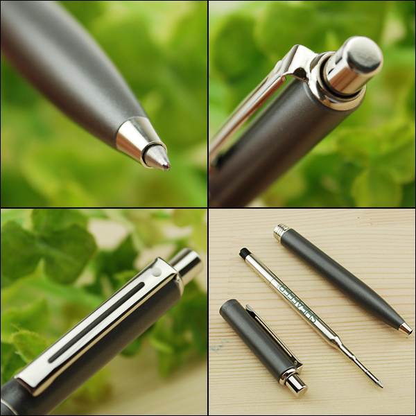 Schaefer SHEAFFER Sentinel ballpoint pen smoky matte black / matte Smokey gray SF9071BP/SF9072BP