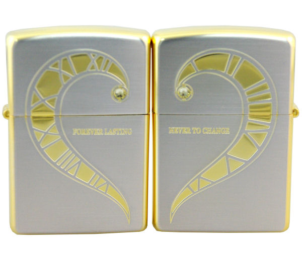 ジッポー ペアZIPPO フォーエバーラブSPエディションペア (レギュラータイプとレギュラータイプ) FLPR-SGS