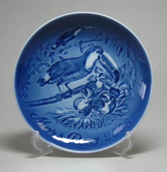 ビングオーグレンダールマザーズディ・プレート2008年(オオハシ)箱・説明書付