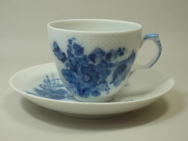 ロイヤルコペンハーゲンブルーフラワー・カーブ コーヒーカップ&ソーサー 1級品
