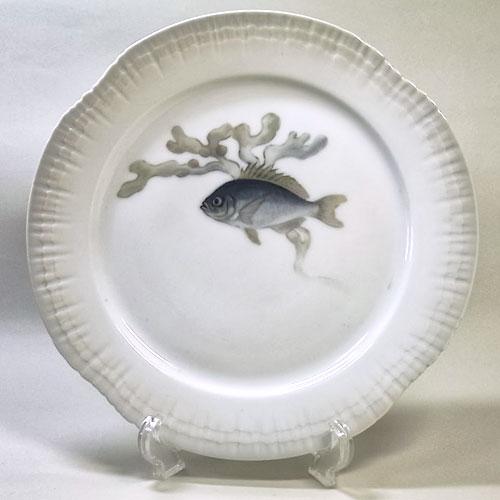 ロイヤルコペンハーゲン アンティーク・魚の絵皿(B)