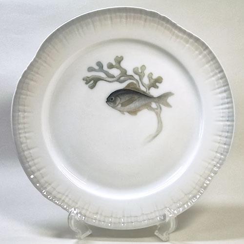 ロイヤルコペンハーゲン アンティーク・魚の絵皿(C)