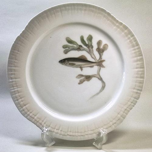 ロイヤルコペンハーゲン アンティーク・魚の絵皿(L)