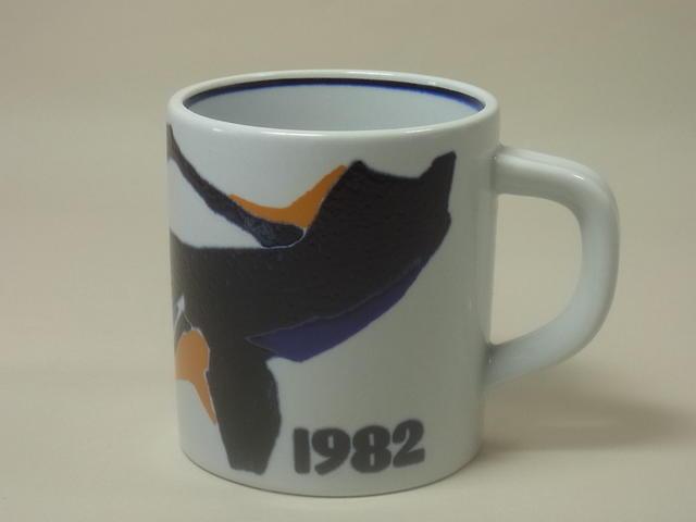 ロイヤルコペンハーゲン・イヤーマグカップ1982年