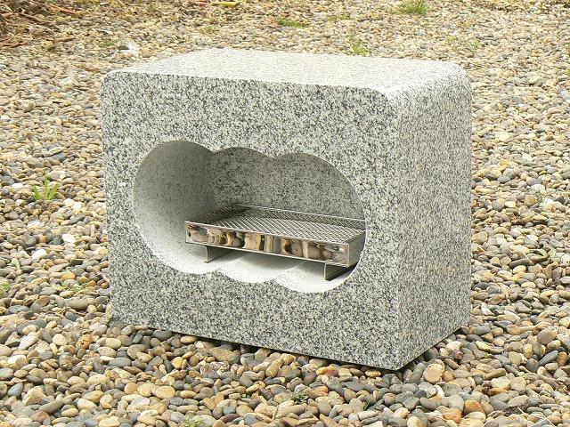 【お墓・墓石・香炉】白御影石香炉(大)・香皿付