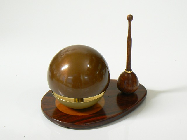《おりん》【チョコたま】たまゆらりんセット(チョコ)1.8寸 【送料無料】