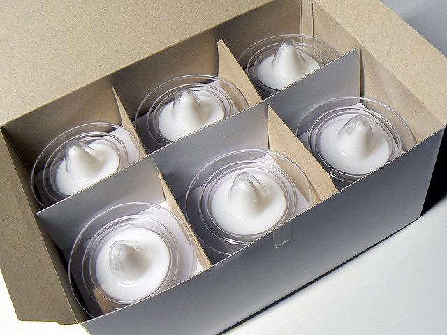 カメヤマローソク 植物性カートリッジ和蝋型 12個入り×10箱【送料無料】