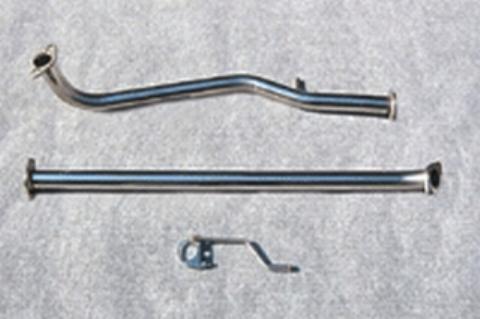 オートジュエル(Jワークス) フロントパイプ アルトラパン(ラパンSS) HE21S 5型まで(~H19/4)