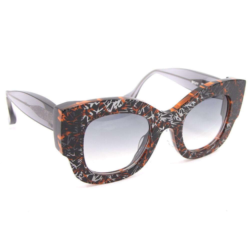 de9f2617f983 auc-yume  Fendi sunglasses FF0106 orange black gray used geometry ...