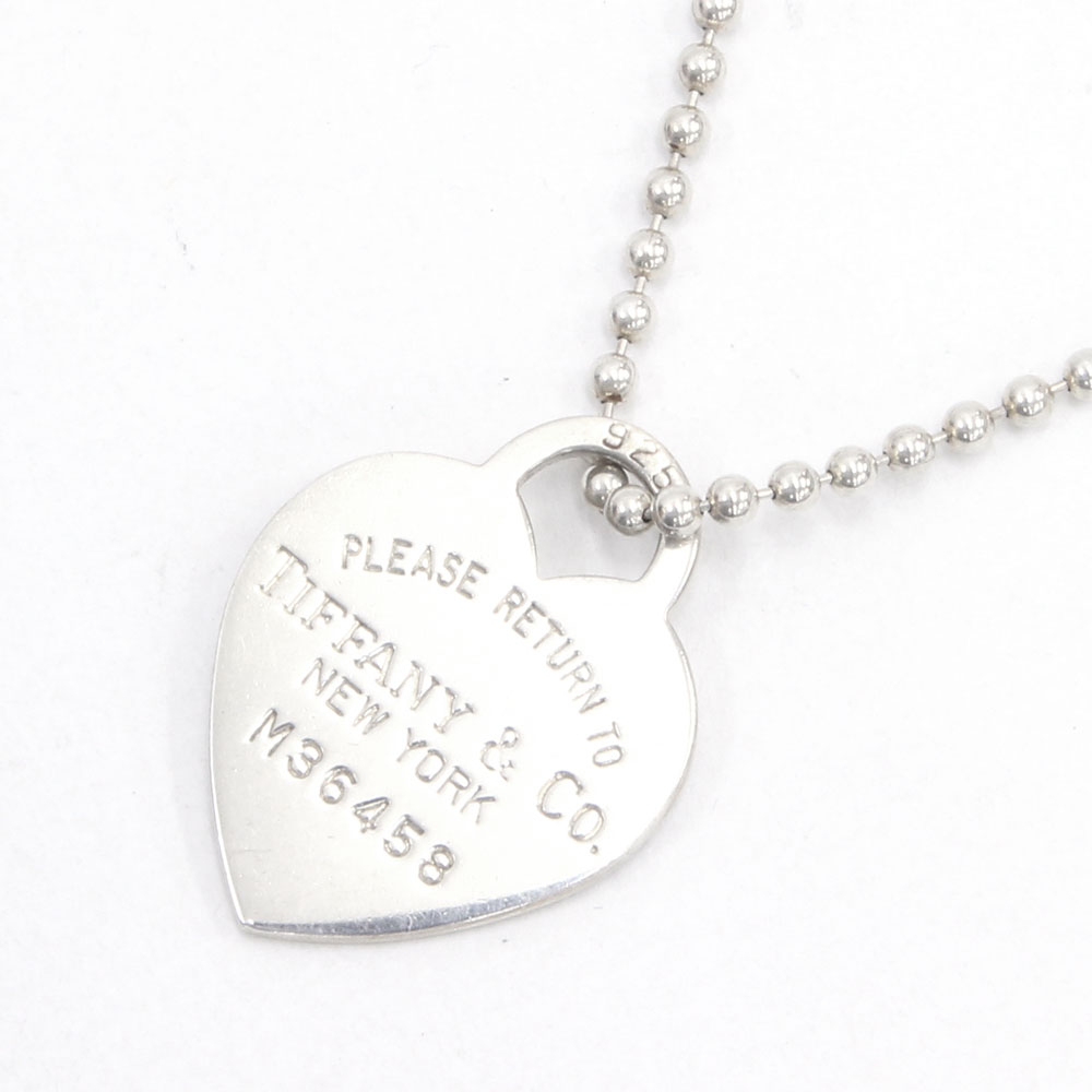 7cc91dd10 Auc Yume Tiffany Necklace Return Toe Heart Tag Sv Sterling Silver