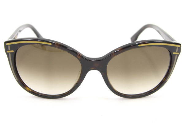 fd72045935f5 Entering Fendi sunglasses FS5280 black brown marble brown gradation used  glasses eyewear logo FENDI