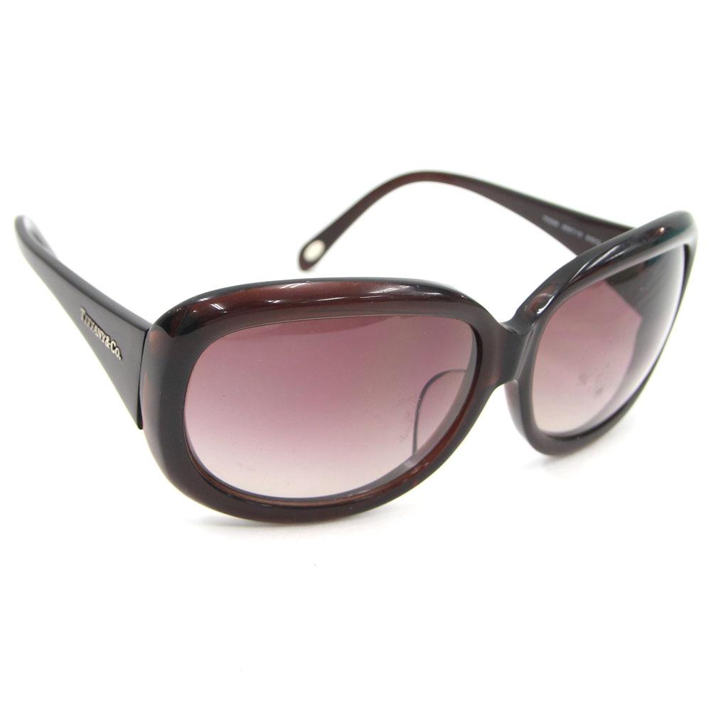 e233157e669f Entering Tiffany sunglasses TF4039 dark brown gray glasses eyewear logo  TIFFANY&Co | tiffany tiffany& ...
