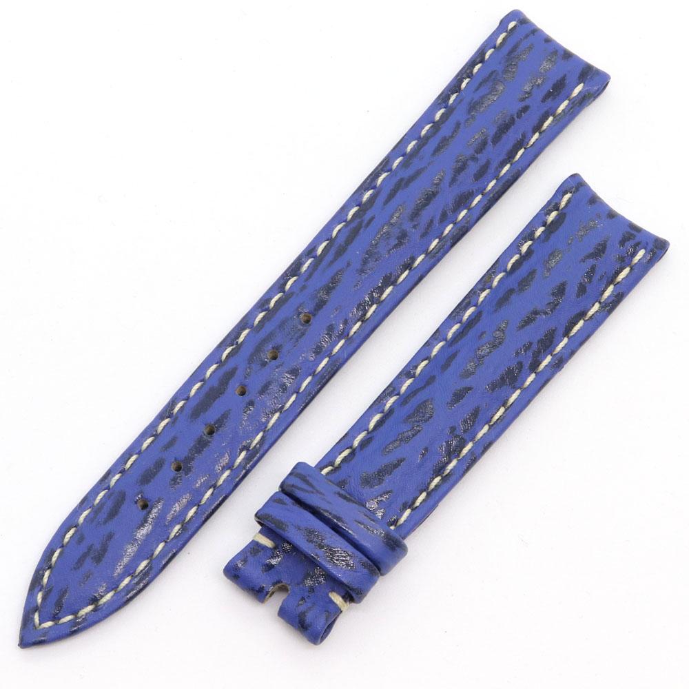 ショパール 替えベルト 純正 ブルー レザー 新品 未使用 革ベルト 時計 腕時計 Watch chopard