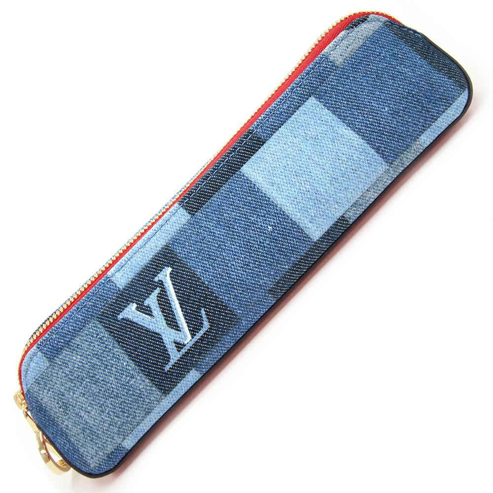 ルイヴィトン ペンケース デニム モノグラム トゥルース エリザベット GI0444 デニム 新品 未使用 ポーチ ブルー LV LOUIS VUITTON