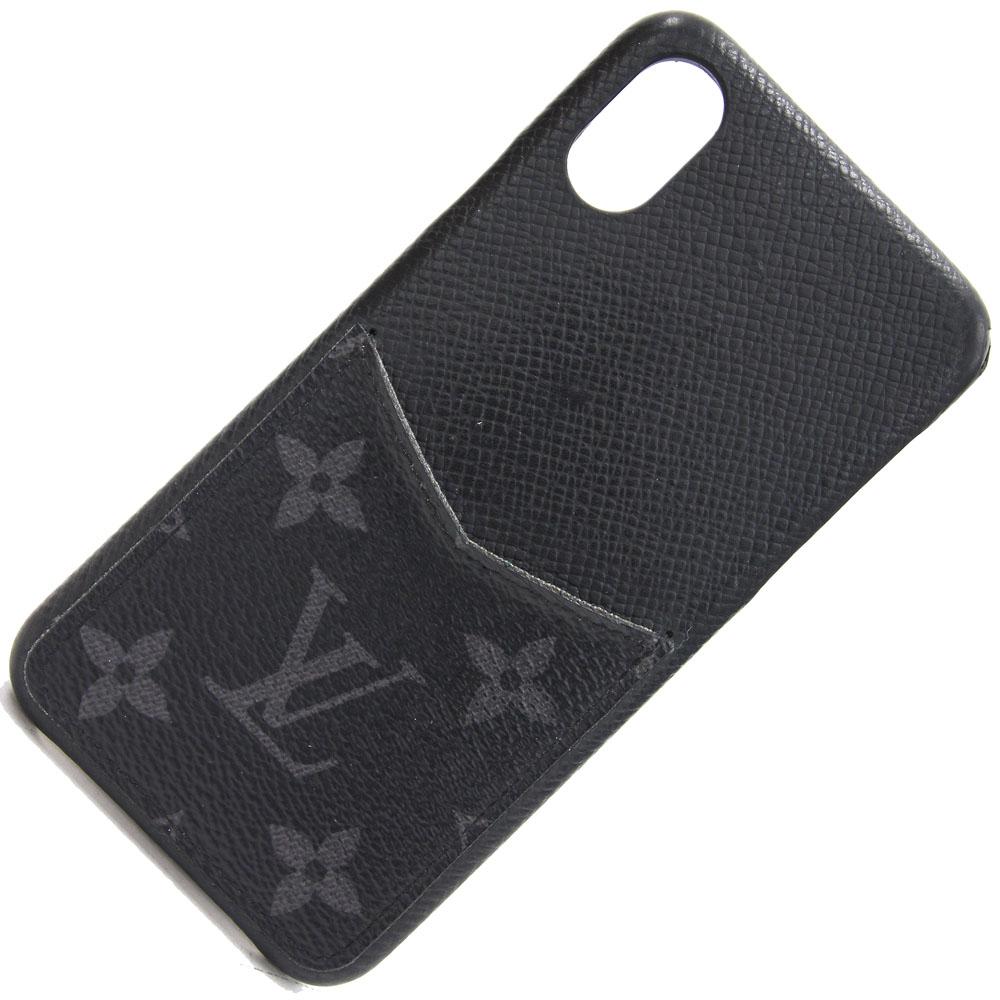 ルイヴィトン スマホカバーをセール価格で販売中 スマホカバー 日本正規代理店品 モノグラム エクリプス IPHONEX XSバンパー M67806 ブラック iPhoneケース VUITTON 大決算セール スマホケース LOUIS メンズ 中古 レディース