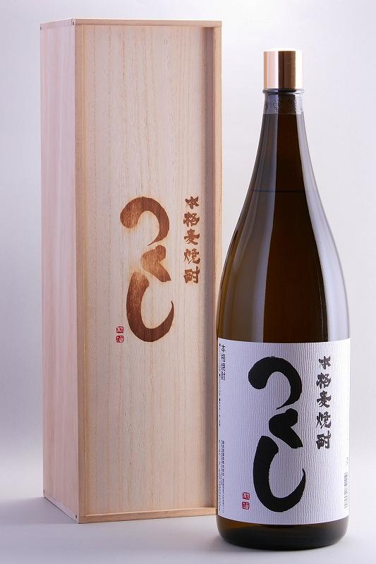 つくし 繁盛ボトル 白ラベル 4500ml【福岡県】【西吉田酒造】【麦焼酎】【常圧蒸留の深み】