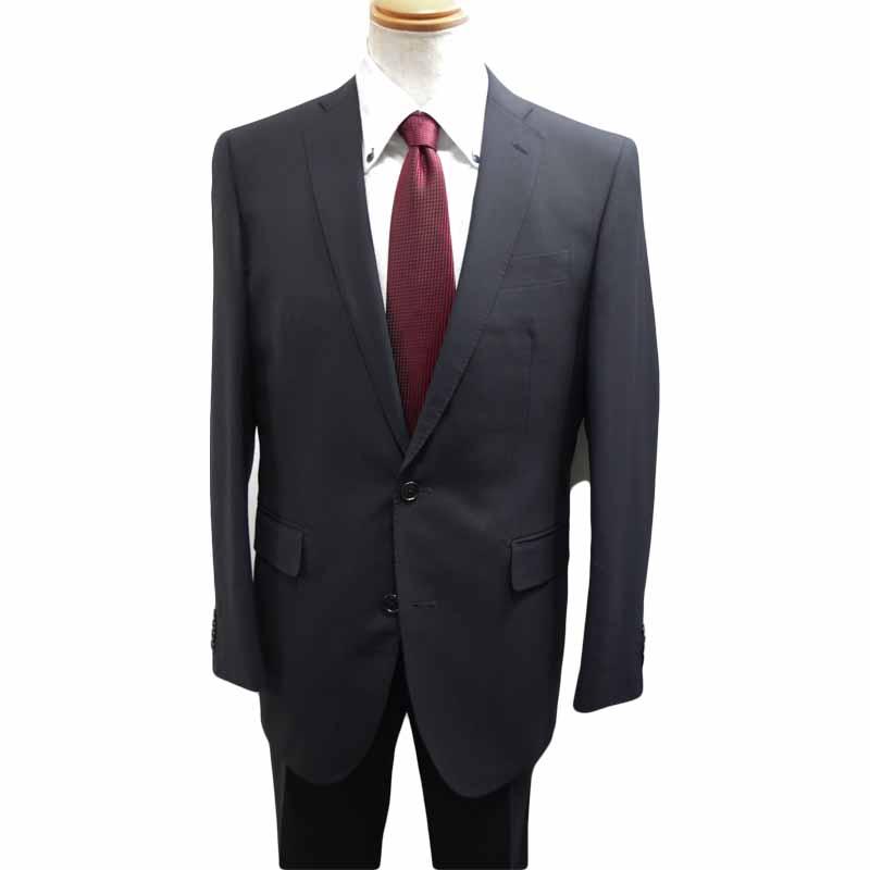 ビジネススーツ ネイビー ストライプ A7