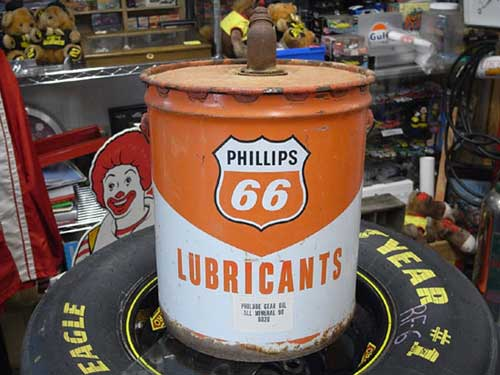 BIG MOTOR OIL缶(PHILLIPS66 LUBRICANTS) オイル缶 / ガロン缶