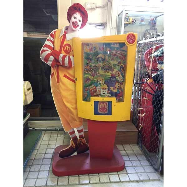 マクドナルド 店舗用 ディスプレイケース McDonald アメリカン雑貨