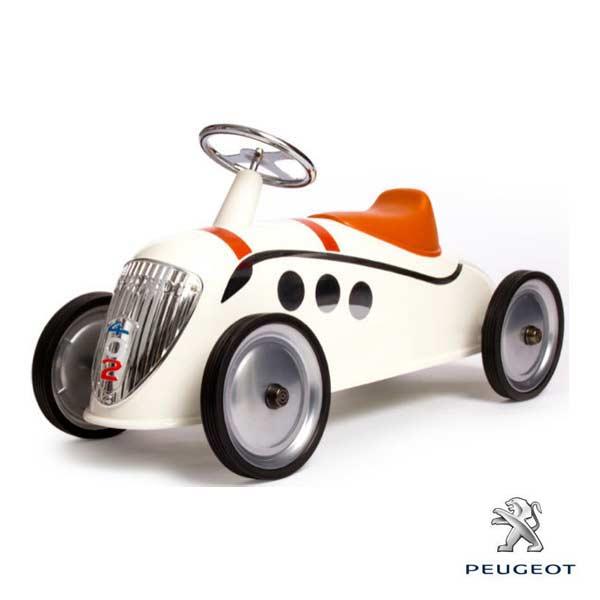 プジョー ペダルカー ライドオン カー ライダー オフホワイト バゲーラ社 Baghera [Rider Peugeot off White #827] 乗用玩具 乗り物 アメリカン雑貨 アメ雑
