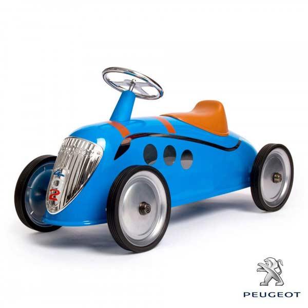 プジョー ペダルカー ライドオン カー ライダー ブルー バゲーラ社 Baghera [Rider Peugeot Darl' Matt #828] 乗用玩具 乗り物 アメリカン雑貨 アメ雑