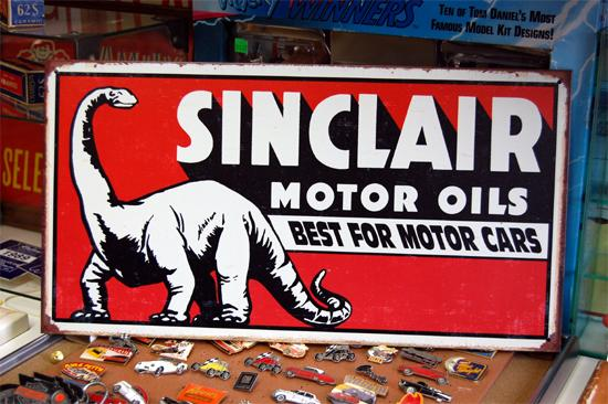 インテリアに最適 まとめ割 Sinclair Dinosaur 公式ストア ティンサインプレート 直輸入品激安 1269 アメリカン雑貨 ブリキ看板