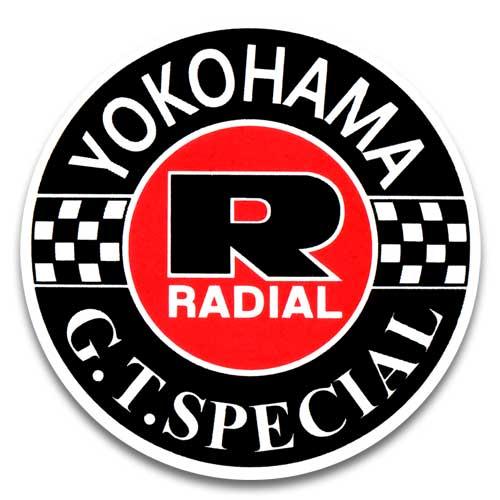 人気のステッカー 有名な 無料サンプルOK ステッカー YOKOHAMA TIRE G.T.SPECIAL ヨコハマタイヤ アメリカン雑貨