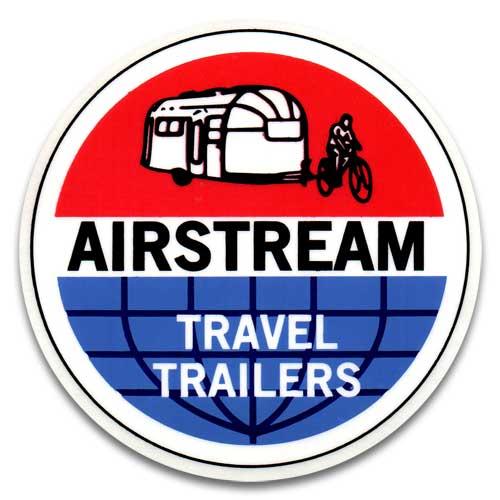 人気のステッカー ステッカー 海外限定 AIR STREAM TRAVEL TRAILERS アメリカン雑貨 エアストリーム タイムセール